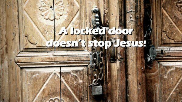 Behind Locked Doors Because of Fear