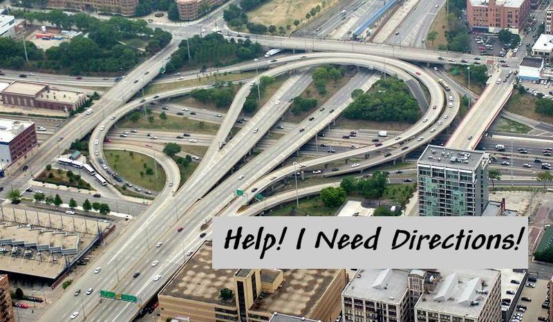 Help!  I Need Directions!