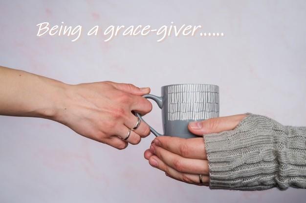 God's Grace. My Grace.