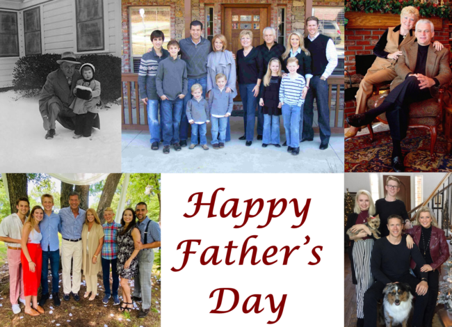 Happy Father's Day!  Fathers and Fatherless