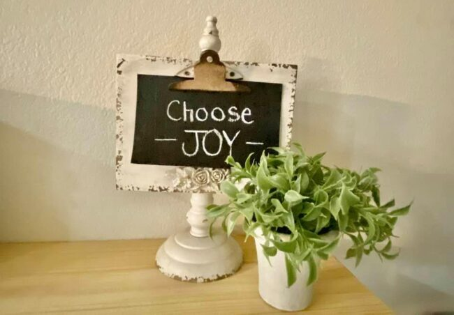 Choosing Joy Over Misery is Best. Choice. Ever.
