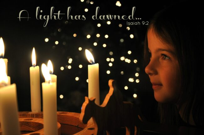 Christmas Divides Darkness from Light