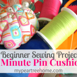 Easy Sewing Series: 5 Min Pin Cushion