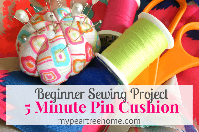 Easy Pin Cushion