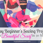 Easy Sewing Series: Infinity Scarf