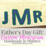 $3 Monogrammed Travel Bag (Perfect for Father's Day!)