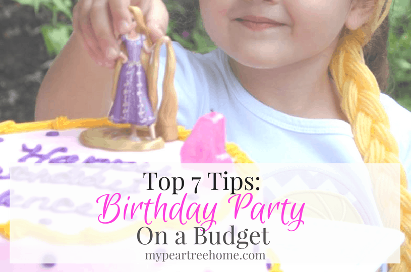 Want to throw a cute birthday party for your kiddo, but don't want to shell out a ton of money? Here are the TOP 7 TIPS for saving lots of money when hosting a party! Click to the post to get all the ways to help you save big!