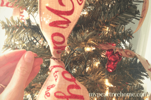 "Love a beautiful Christmas tree, but don't like the cost of all of the ornaments? Look no further! What would you say if I told you that you could decorate your WHOLE tree for $15?! Say what!? Click to the post to see! ""I triple dog dare you!"""
