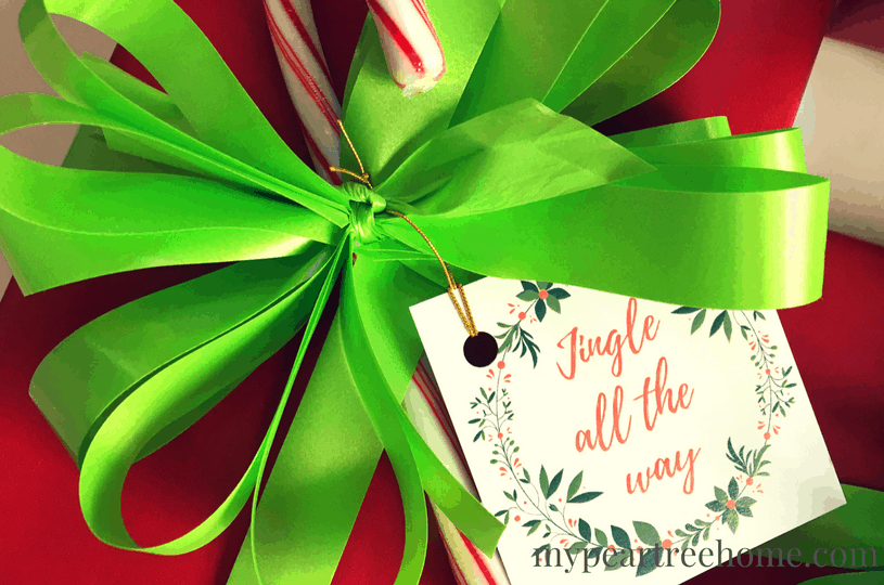 Want an easy way to get your Christmas presents and gifts looking festive and picture perfect? These free printable tags will do just that! Click to the post to get yours!