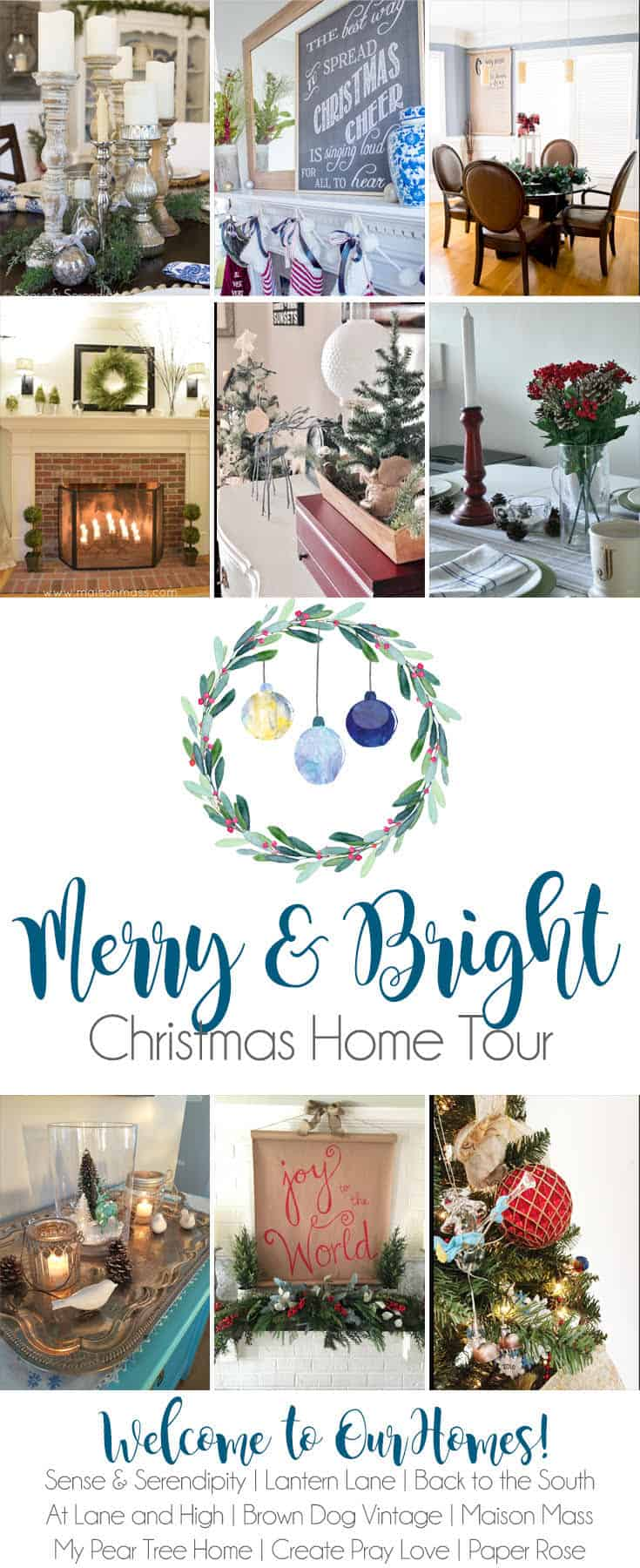 Merry and Bright Christmas Home Tour | My Pear Tree Home
