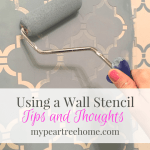 Wall Stencil ~Using Chalk Paint