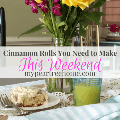 These cinnamon rolls are so delicious they basically melt in your mouth. They will be a hit at any brunch or family gathering. Click to the post to get the recipe for these yummy cinnamon rolls!