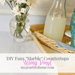 "How to Cheat on ""Marble"" Countertops"
