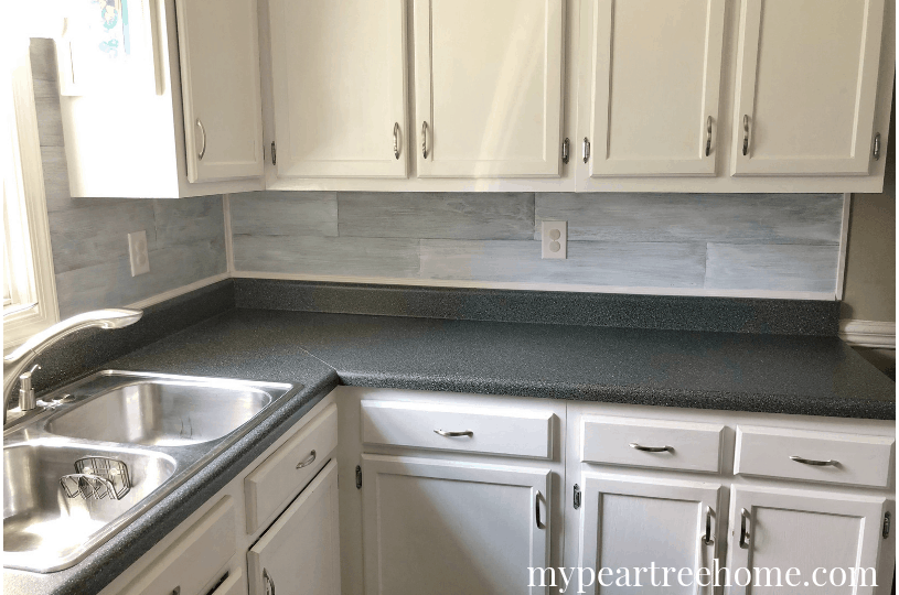 Transform your laminate counters in one weekend!