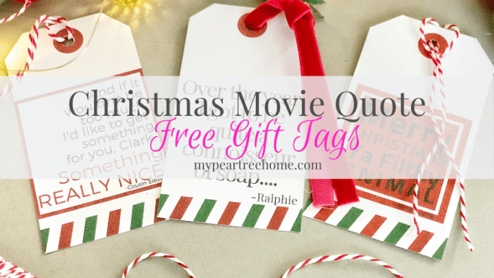 Christmas Movie Quote Gift Tag Printable: You Serious Clark?