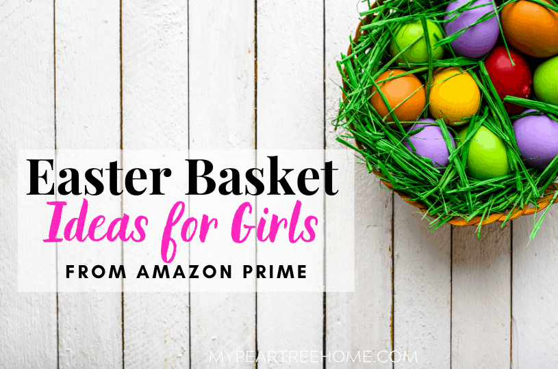 Need some Easter basket gift ideas for your daughter? This Easter basket gift guide includes 15 top ideas that are budget-friendly! Stock the Easter basket without even leaving home! Everything on this Easter gift guide for girls is from Amazon Prime!