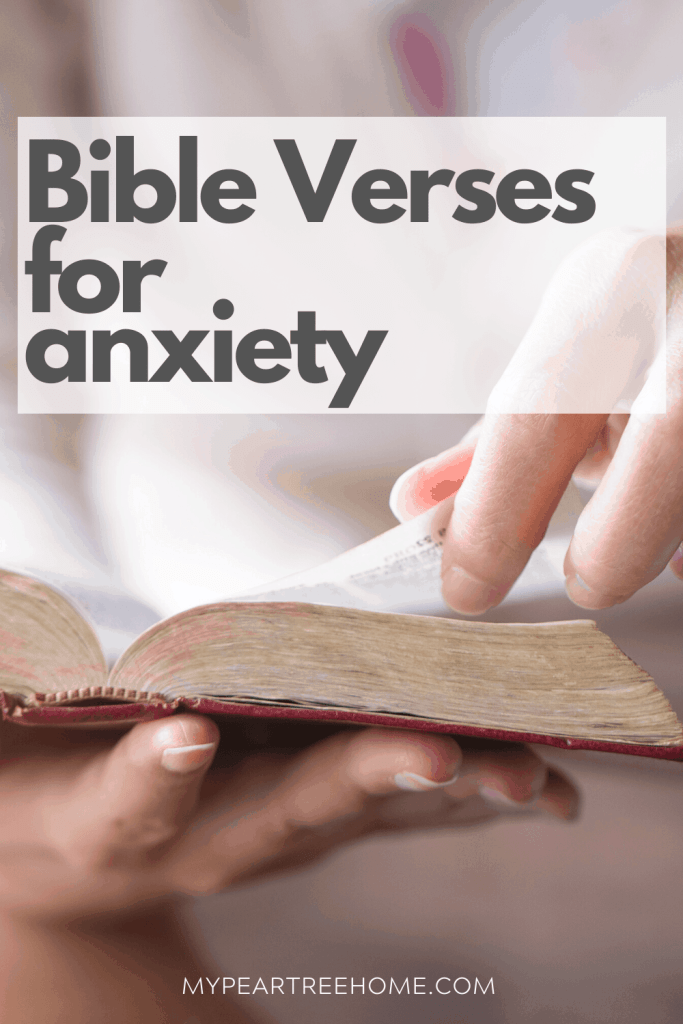 Printable Bible verses to help with anxiety