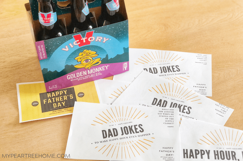 free beer labels to print