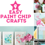 Crafts Using Paint Chips