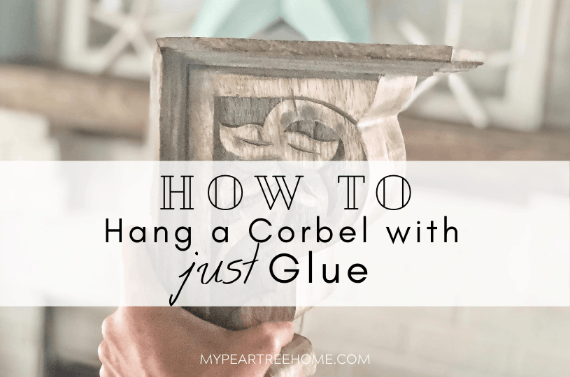how to hang a corbel