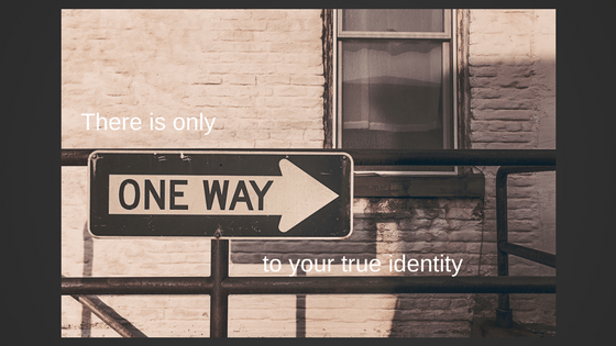 We Only Need 1 Identity