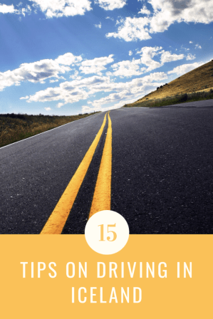 15 Essential Tips on Driving in Iceland, especially for first timers driving in Iceland, speed limits in Iceland, Renting a car in Iceland and more!