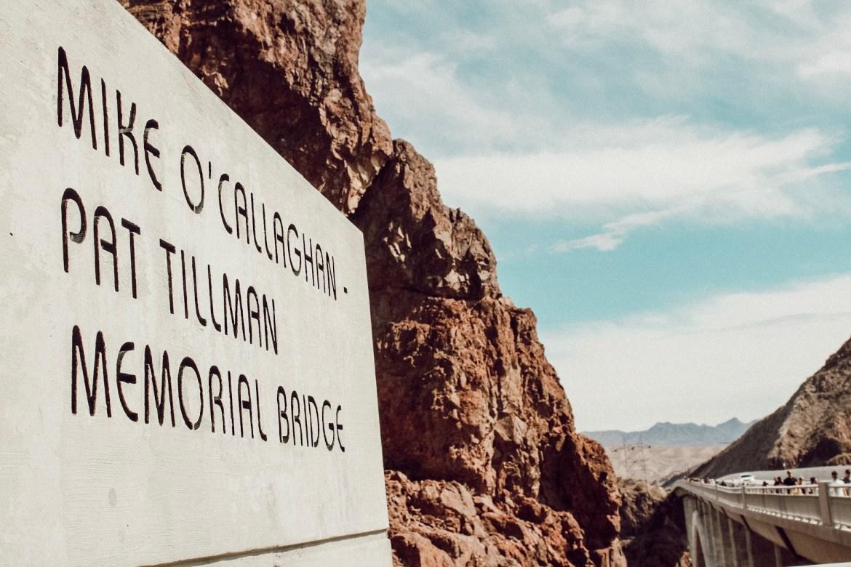 Mike O'Callaghan Pat Tillman Memorial Bridge at Lake Mead Hoover Dam