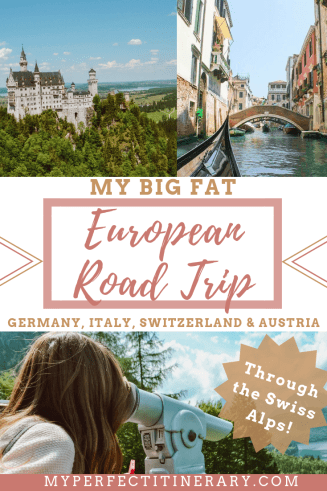 10 Day Europe Road Trip, Driving through the swiss alps, Germany Switzerland Italy and Austria Vacation, Europe Itinerary