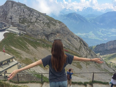 Switzerland Gondola to Mt Pilatus