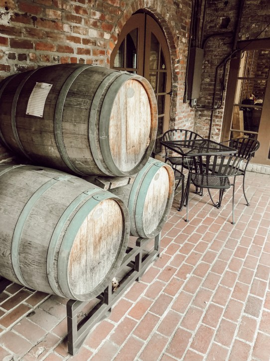 Twisted Twig Winery in The Underground Tasting Room in Sacramento, California