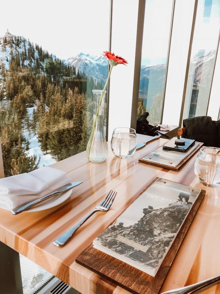 Sky Bistro Banff Gondola