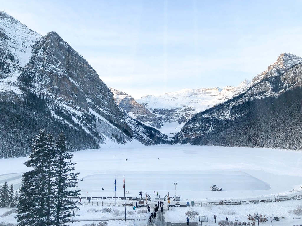 Fairmont Chataeu Lake Louise in the Winter