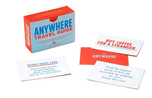 Anywhere Travel Guide Game