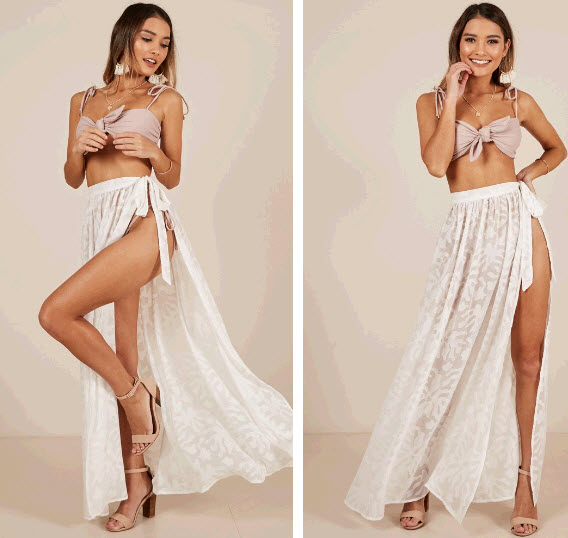 Beach Cover up Skirt