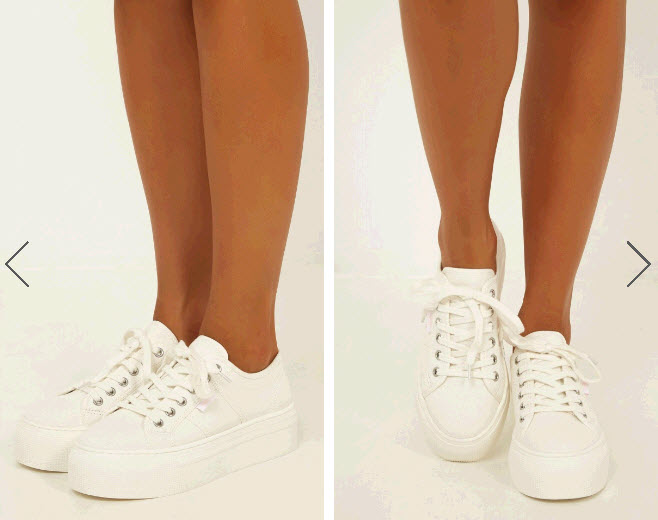 White Sneakers for travel