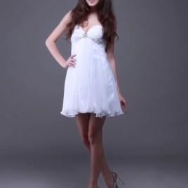 white dama dress