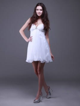 white dama dress