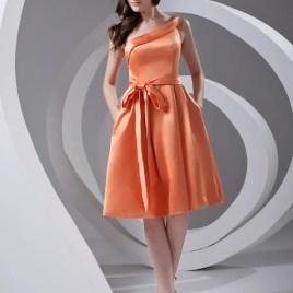 orange dama dress