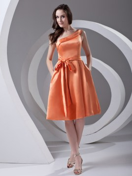orange dama dress