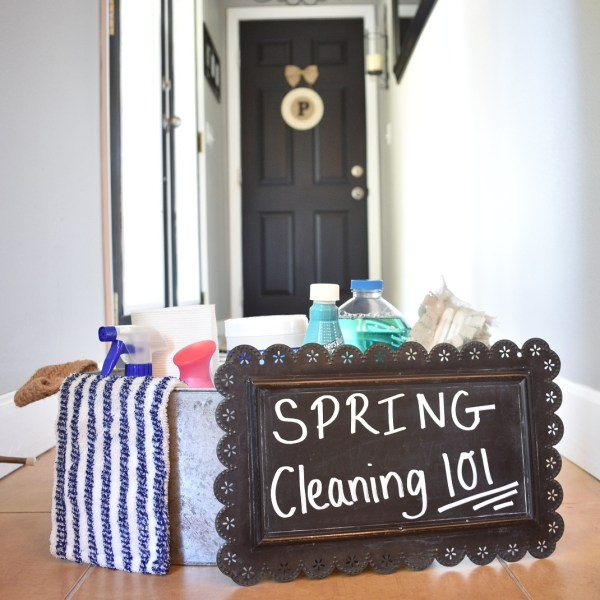 Spring Cleaning Tips & Tricks…