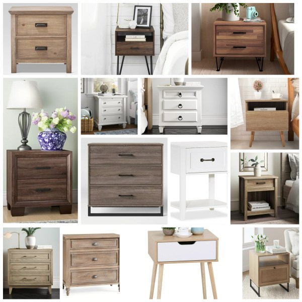 Favorite Nightstands Roundup