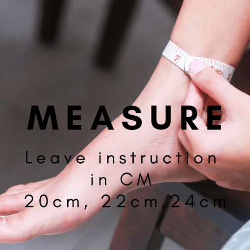 Measure Anklet