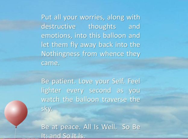 Balloon Floats Into Sky