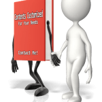 Picture of a book holding hands with a stick figure