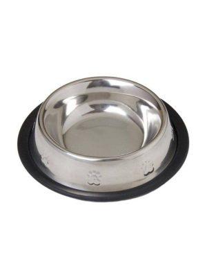 Comedouro Aço Inox Cães e Gatos 240ml