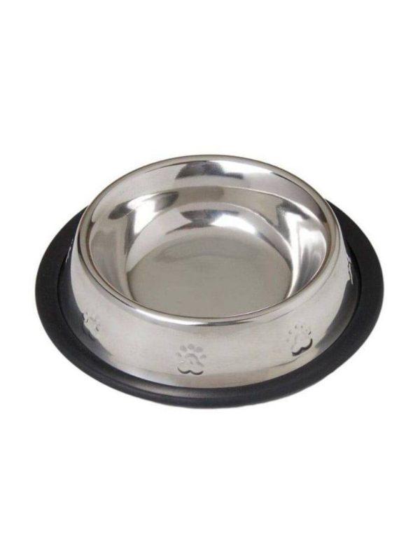 Comedouro Aço Inox Cães e Gatos 480ml