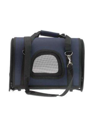 Mala Fitch para transporte de Cães e Gatos Azul American Pets