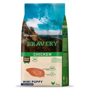 Bravery Mini Puppy Pollo 7 kg