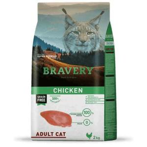 Bravery Gato Adulto Pollo 7 Kg