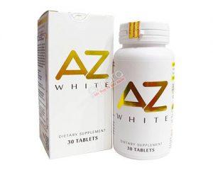 Viên uống trắng da sáng tự nhiên AZ White 30 viên